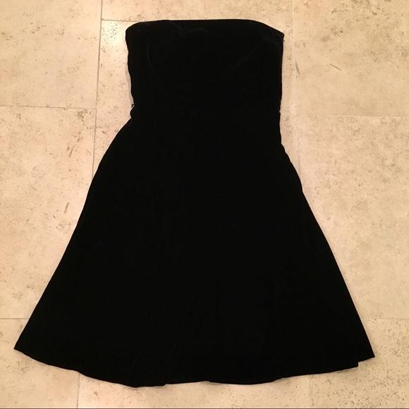 Ann Taylor Dresses & Skirts - Black Velvet Dress